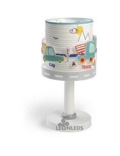 Lámpara de Sobremesa Infantil con coches Baby Travel Dalber 61681 | LeonLeds Iluminación