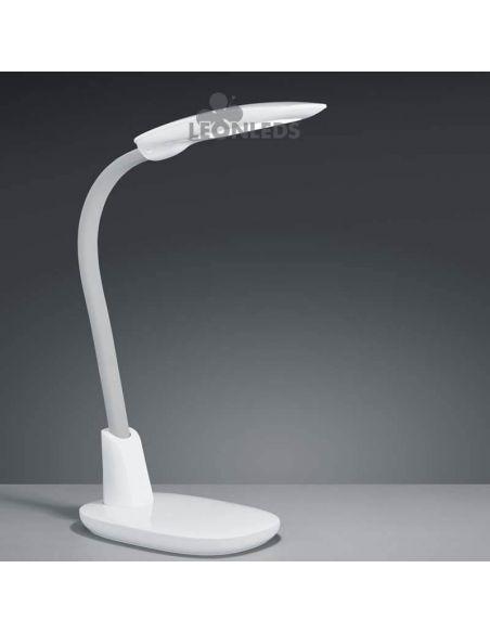 Flexo LED grande blanco 9W Trio Lighting | LeonLeds