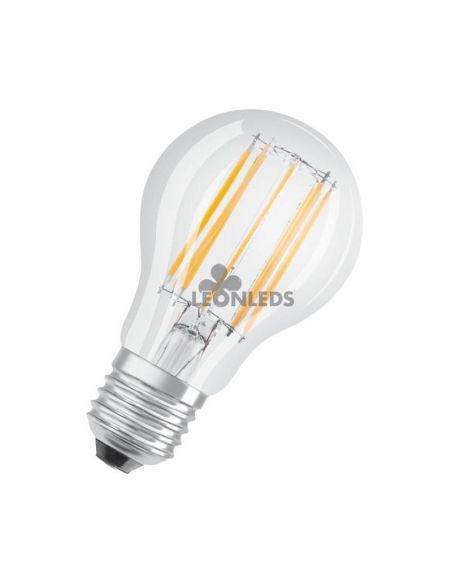 Bombilla LED E27 Filamento PARATHOM 10W A60 | Bombilla LED A60 Vintage OSRAM 4000K| LeonLeds Iluminación
