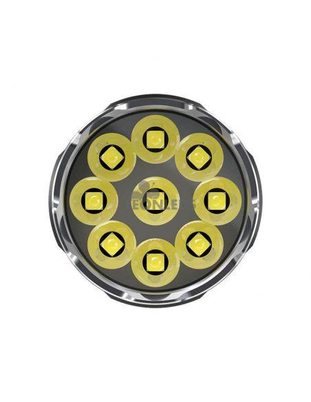 Linterna de Mano Nitecore TM9K 9500Lm Turbo Ready | bateria 21700| LeonLeds Iluminación