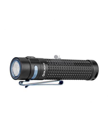 Linterna de mano S2R II Baton 1150Lm recargable olight negra | 135 metros de alcance | LeónLeds Iluminación