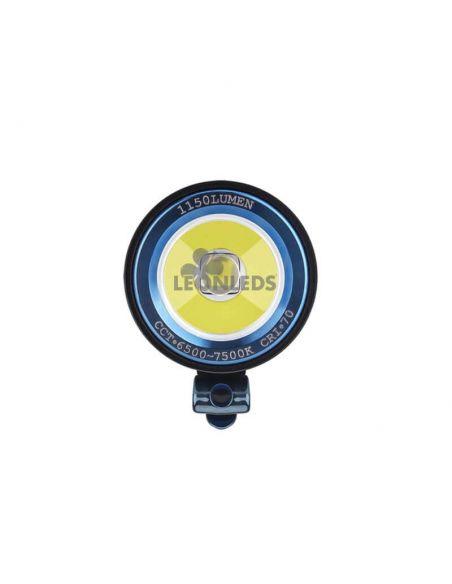 Linterna de mano S2R II Baton 1150Lm recargable olight negra | carga magnética| LeónLeds Iluminación