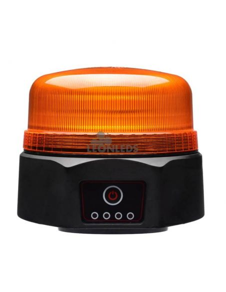 Rotativo LED de batería recargable magnético NR65 TA1 Agropar | LeonLeds
