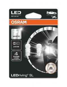Bombillas LED Osram T10 6000K 12V 1W (2Uds) LEDriving SL 2825DWP-02B Osram | LeonLeds Iluminación