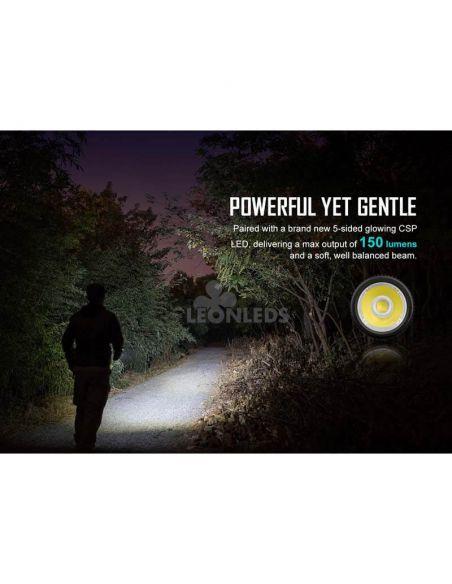 Linterna llavero LED I1R 2 EOS 150Lm negra   emergencia   LeónLeds Iluminación