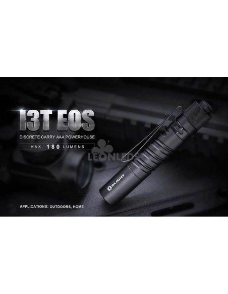 Linterna táctica LED I3T EOS 180Lm negra | expediciones senderismo | LeónLeds Iluminación