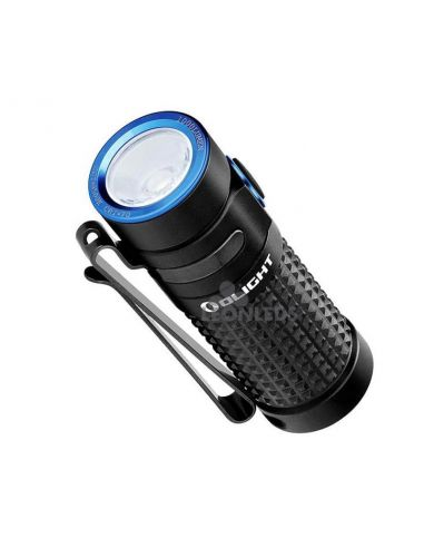 Linterna de bolsillo LED S1R Baton 2 1000Lm negra | 1000 lúmenes | LeónLeds Iluminación