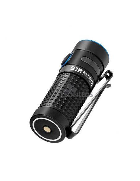 Linterna de bolsillo LED S1R Baton 2 1000Lm negra | compacta | LeónLeds Iluminación