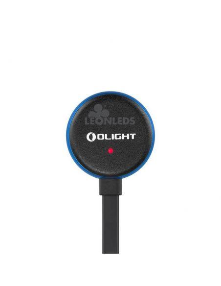 Linterna de bolsillo LED S1R Baton 2 1000Lm negra | cargador magnético cargando| LeónLeds Iluminación
