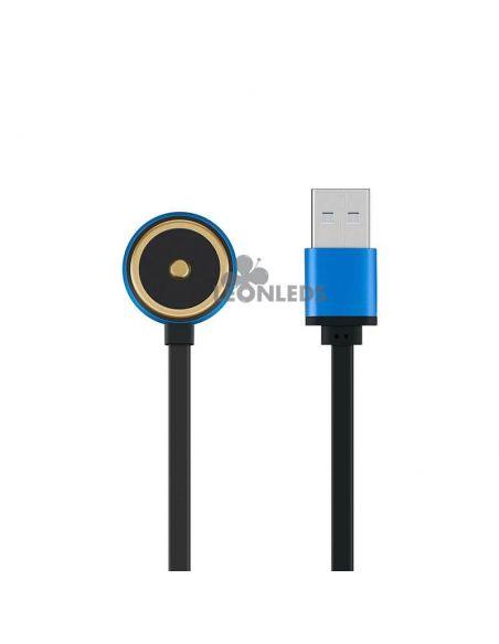 Linterna de bolsillo LED S1R Baton 2 1000Lm negra | incluye cargador usb| LeónLeds Iluminación