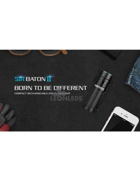 Linterna de bolsillo LED S1R Baton 2 1000Lm negra | oficina | LeónLeds Iluminación