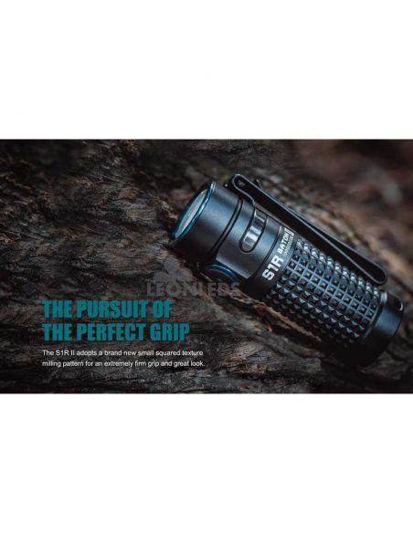 Linterna de bolsillo LED S1R Baton 2 1000Lm negra | escalada| LeónLeds Iluminación