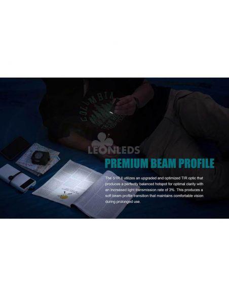 Linterna de bolsillo LED S1R Baton 2 1000Lm negra | acampada | LeónLeds Iluminación