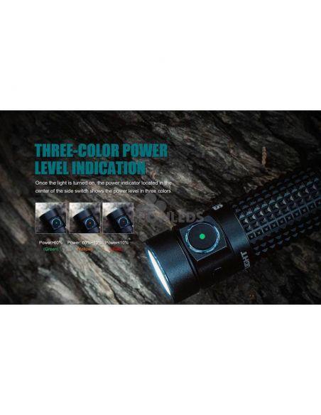 Linterna de bolsillo LED S1R Baton 2 1000Lm negra | alcance 145 metros| LeónLeds Iluminación