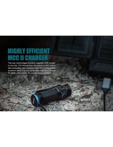 Linterna de bolsillo LED S1R Baton 2 1000Lm negra | running| LeónLeds Iluminación