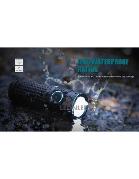 Linterna de bolsillo LED S1R Baton 2 1000Lm negra | senderismo | LeónLeds Iluminación