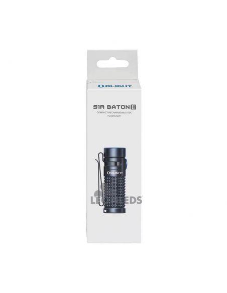 Linterna de bolsillo LED S1R Baton 2 1000Lm negra | paquete venta| LeónLeds Iluminación