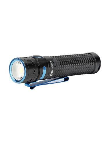 Linterna de mano LED EDC Baton PRO 2000Lm negra | 2000 lúmenes | LeónLeds Iluminación