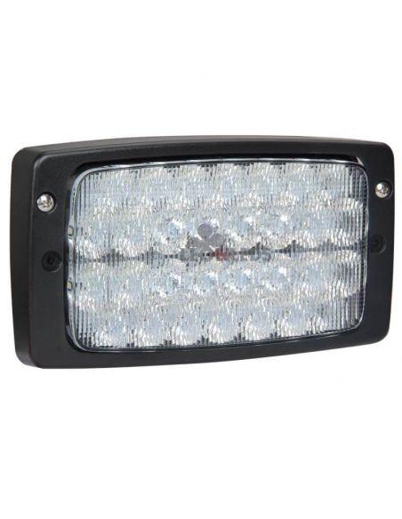 Faro LED empotrable rectangular 5400Lm Massey Ferguson Fendt Case Terex Claas Liebherr Agropar | LeonLeds