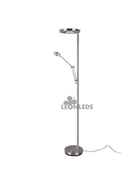 Lámpara de pie LED dos brazos Barrie Trio Lighting   brazo largo   León Leds Iluminación