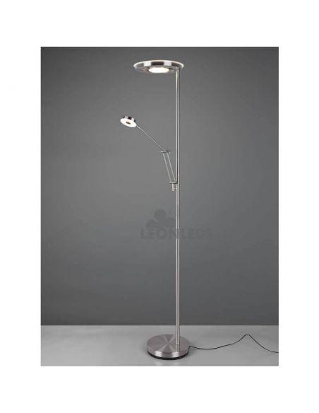 Lámpara de pie LED dos brazos Barrie Trio Lighting   especial lectura   León Leds Iluminación