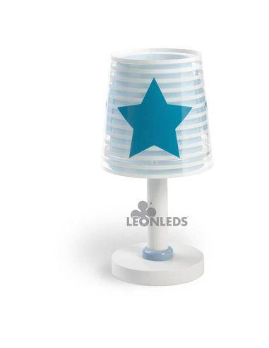 Lámpara de mesa Azul Light Feeling Dalber 81191T| LeónLeds Iluminación