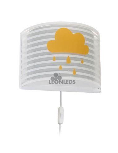 Aplique infantil Gris Light Feeling 81198E   LeónLeds Iluminación