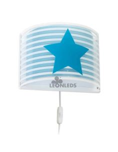 Aplique infantil Azul Light Feeling 81198T | LeónLeds Iluminación