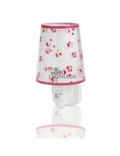 Luz de noche LED Rosa Dream Flowers Dalber 81175S | LeónLeds Iluminación