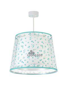 Lámpara de techo infantil Turquesa Dream Flowers 81172H | LeónLeds Iluminación