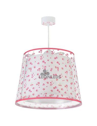 Lámpara de techo infantil Rosa Dream Flowers 81172S   LeónLeds Iluminación