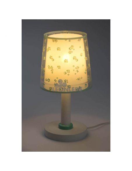 Lámpara de mesa infantil Turquesa Dream Flowers Dalber 81171H | LeónLeds Iluminación