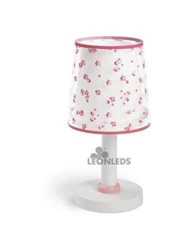 Lámpara de mesa infantil Rosa Dream Flowers Dalber 81171S | LeonLeds Iluminación