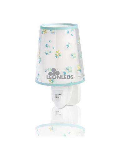 Luz de noche LED Turquesa Dream Flowers Dalber 81175H   LeónLeds Iluminación
