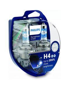 Bombillas H4 Racingvision GT200 + de 200% de luz Philips | LeonLeds Iluminación