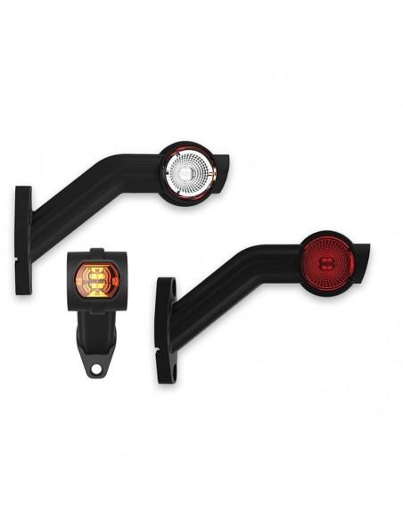 Piloto lateral LED cuerno para camión homologado barato con 3 funciones | LeonLeds Iluminaicón