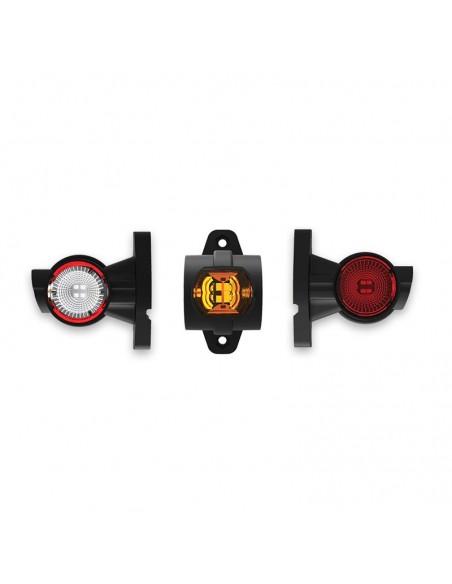 Cuerno Corto LED Con Cable FT-140 A - 3 Funciones Fristom | LeonLeds Iluminación