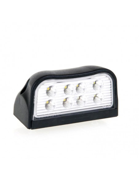 Piloto LED de matricula Fristom FT026 con 8 led para instalar en remolque | LeonLeds Iluminación LED