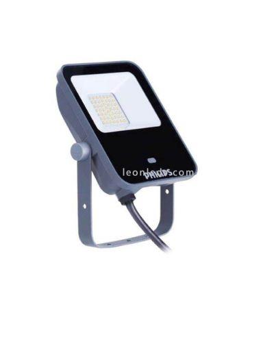 Proyector LED con sensor 20W 4000K BVP154 LED20 MDU Ledinaire 33134899  Philips   LeonLeds Iluminación