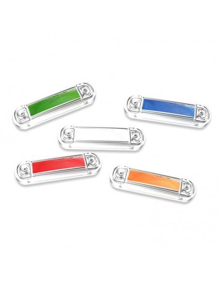 Pilotos Laterales LED Blanco, Azul, Rojo, Naranja, Verde Homologado Luces LED Camión 12V 24V | LeonLeds