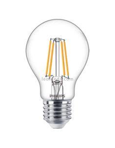 Bombilla E27 Regulable LED Filamento 7.2W A60 2700K Philips 70944300  LeonLeds.com