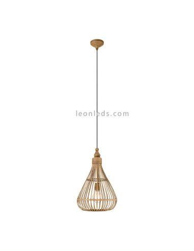 Lámpara de techo Amsfield forma de campana|Eglo Lighting | LeonLeds Iluminación