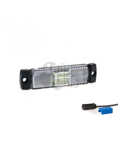 Luces Pilotos Laterales LED de Galibo Blanco Naranja Roja Con conector Fristom FT017 FT-017 | LeonLeds