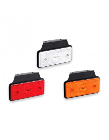 Piloto Lateral Galibo LED Blanco, Naranja, Rojo Fristom MD013 MD-013 Rectangular reflectante | LeonLeds
