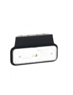 Piloto Lateral delantero o trasero LED y reflectante con soporte Fristom FT004 LED Rectangular | LeonLeds