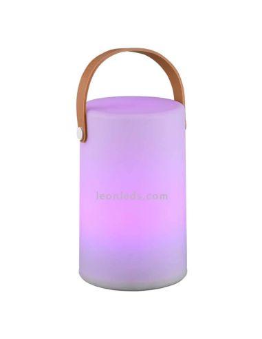 Lámpara LED portatil para exterior Bahamas   Lámpara recargable multiculo Trio Lighting   LeonLeds Iluminación