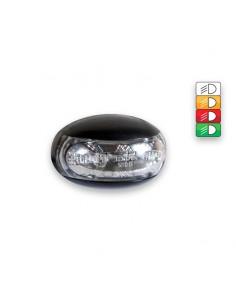 Luces Pilotos LED Laterales y Galibo con o sin soporte FT-012 FT012 Fristom Remolque Camión con tulipa transparente | LeonLeds