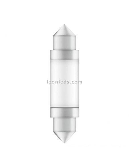 Bombilla LED Festoon C5W 41mm 6000K LEDriving (1Uds) Osram Automoción 6413DWP-01B| LeonLeds.com