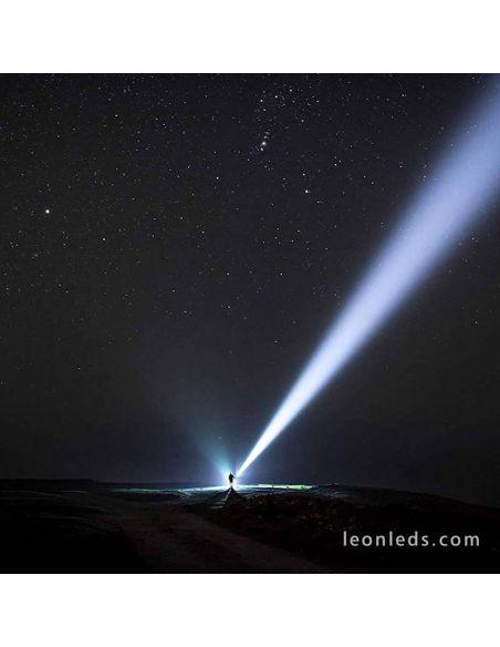 Alcance de 800 metros de Linterna Led potente X21R de 5000Lm 501967 LedLenser 501967 | LeonLeds