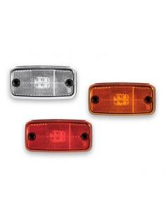 Piloto Lateral y Galibo LED rectangular Reflectante Fristom FT019 FT-019 con o sin soporte Ambar Rojo Blanco | LeonLeds